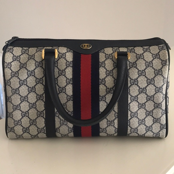 7080c26e79d Gucci Handbags - Vintage Gucci (Accessory Collection) Boston Bag